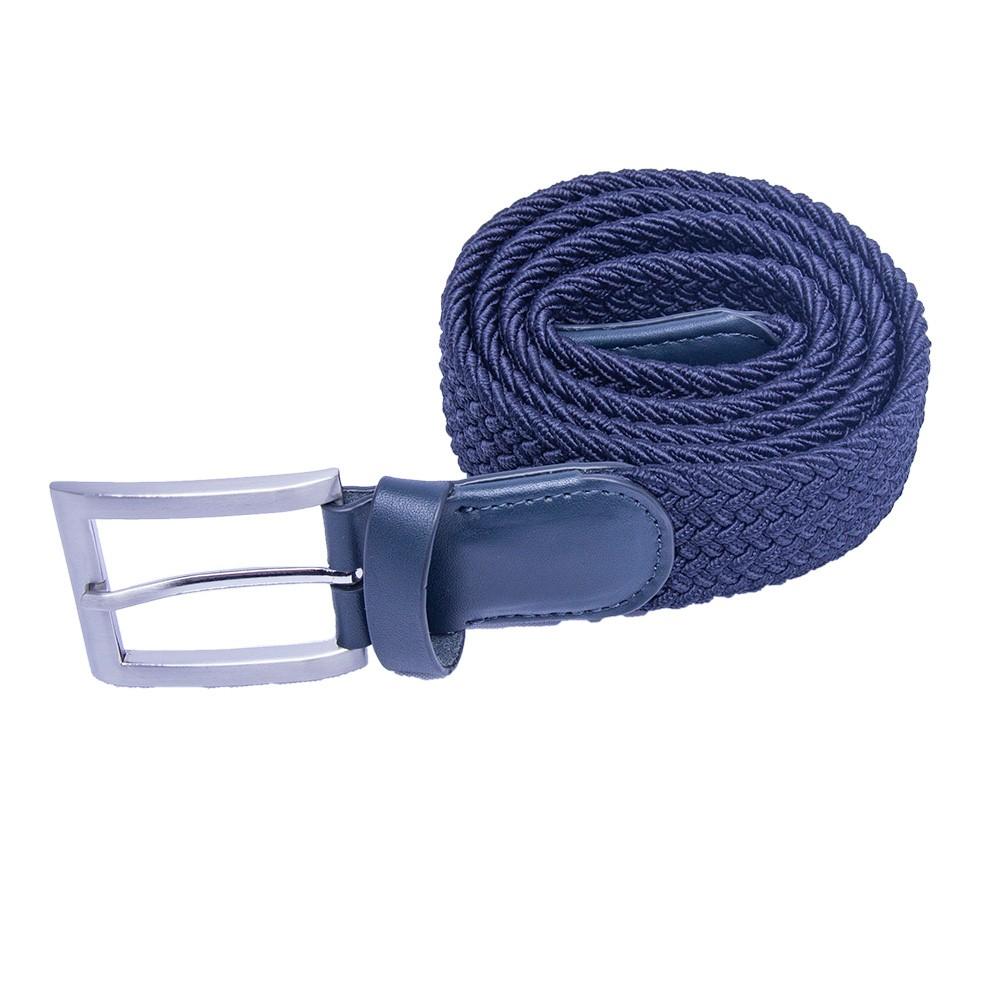 Multicolored Braided Elastic Stretch Belt Golf Belt Multi Size
