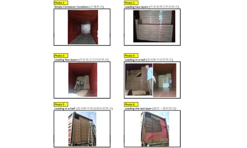 Container Loaded & Inspection