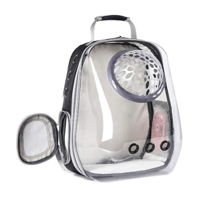 Rigid Clear Pet Backpack