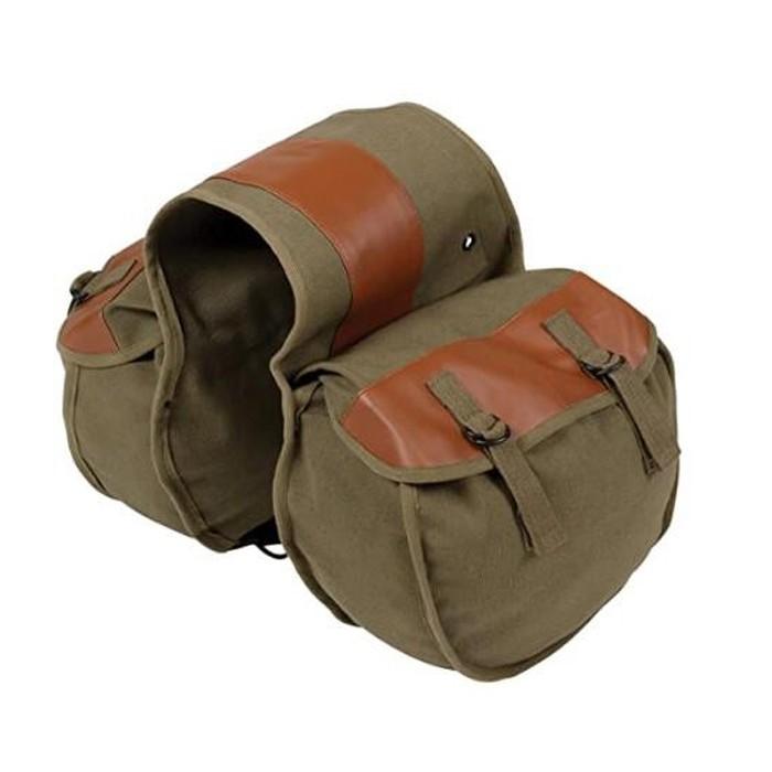 Bicycle Durable Rear Bag In Set 2 In 1