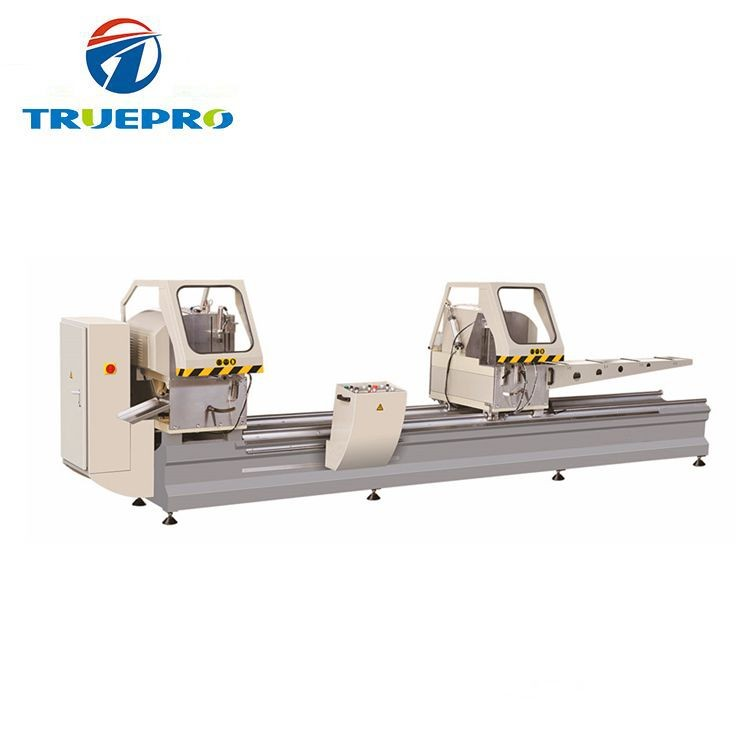 Precision Double Head Cutting Saw Aluminum Window Machine