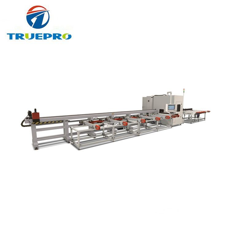 Full Automatic CNC Aluminum Window Profile Cutting Center