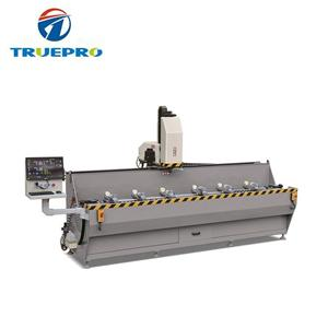 Aluminum Window Hole And Grooves CNC Drilling Milling Machine