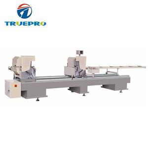 Double Head Cutting Machine For PVC And Aluminum Window Profile