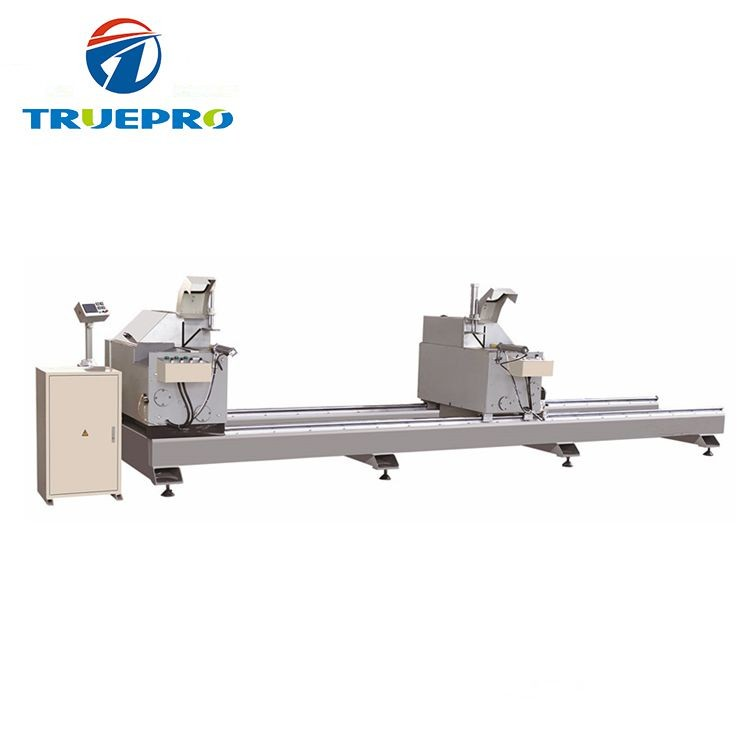High Efficiency PVC Profile Double Head Precision Cutting Saw