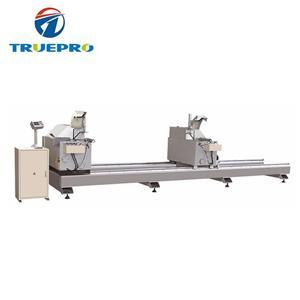 High Efficiency PVC Profile Double Head Precision Cutting Saw