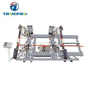 PVC Profile CNC Four Corner Vertical Welding Machine