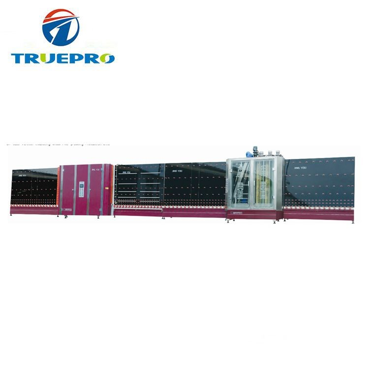 Insulating double glass making machine