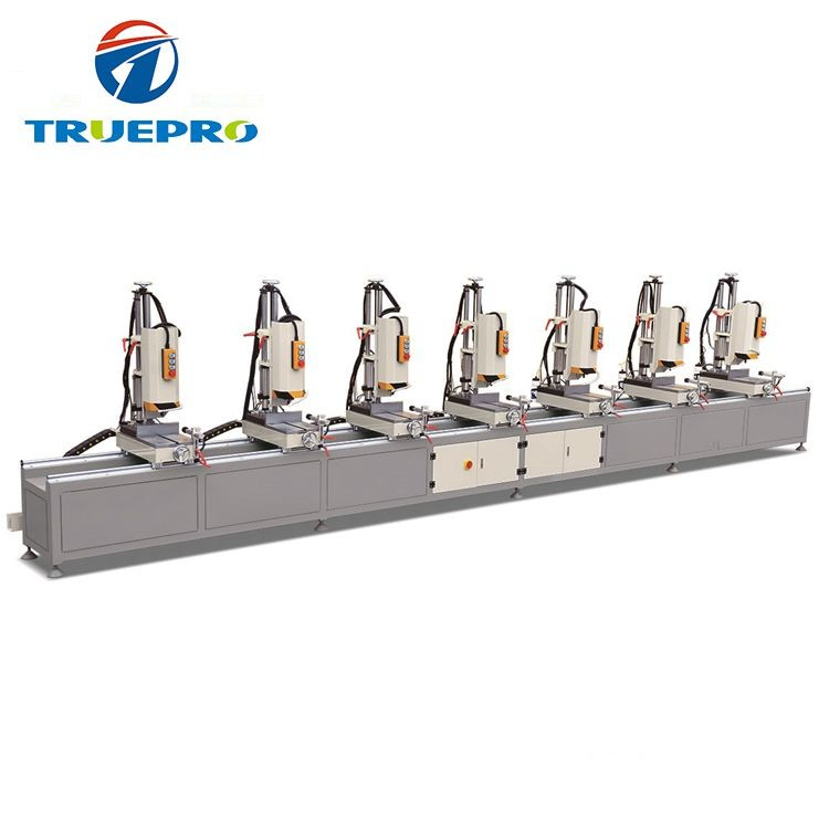 Curtain Wall Seven Heads Combination Drilling Hole Machine