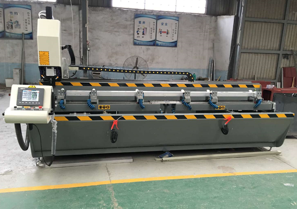 window hole grooves milling machine