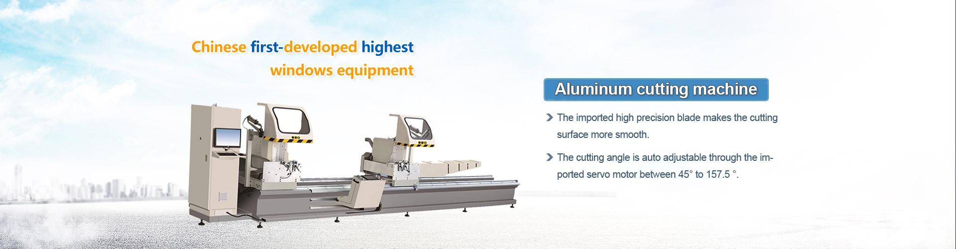 Segatrice per taglio ad angolo in alluminio ad alta efficienza