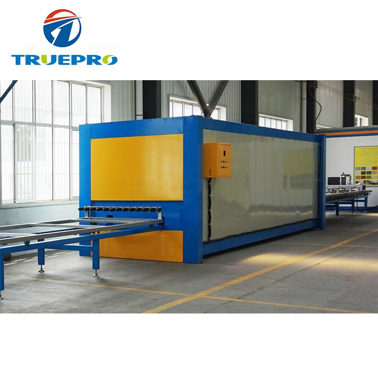 Wood Grain Heat Transfer Machine for Aluminium Profile