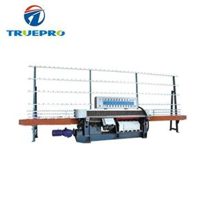 Straight line glass processing edging machine