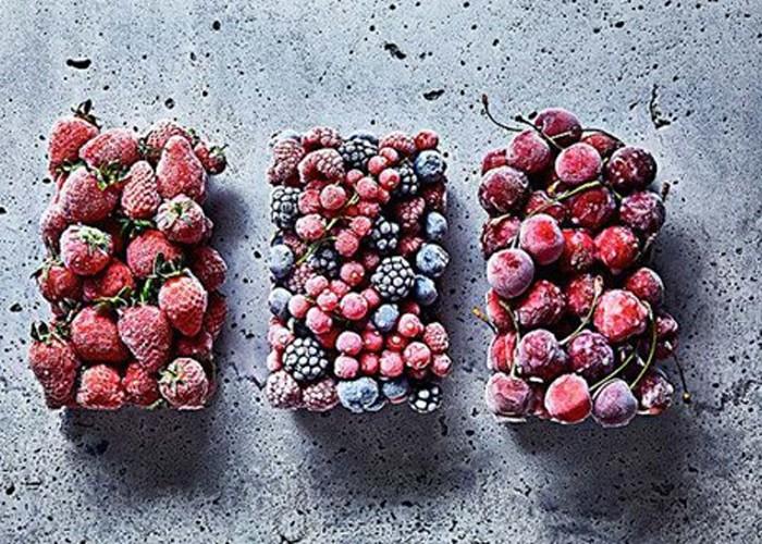 Las frutas y verduras congeladas son más saludables que las frescas