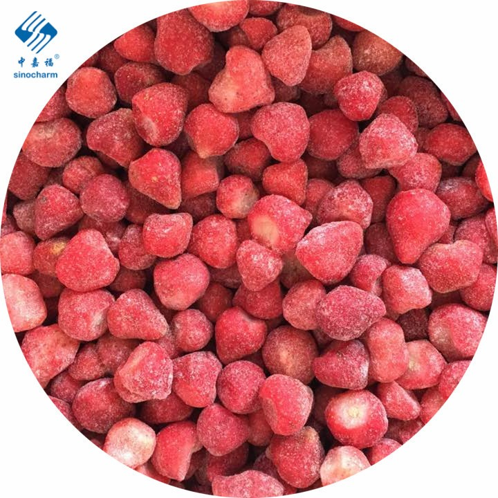 IQF Frozen Organic Strawberry