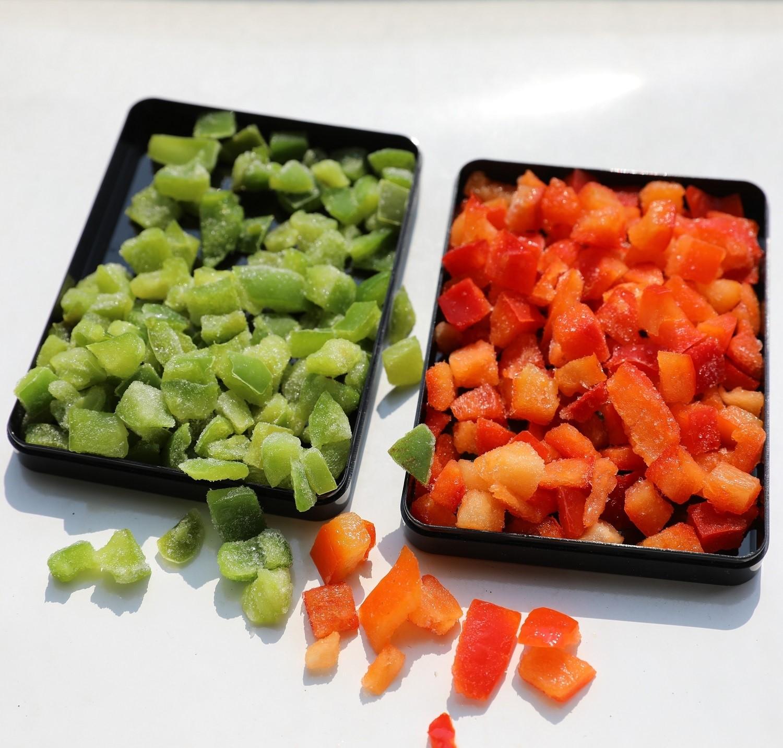 Frozen Green Pepper Strip Manufacturers, Frozen Green Pepper Strip Factory, Supply Frozen Green Pepper Strip