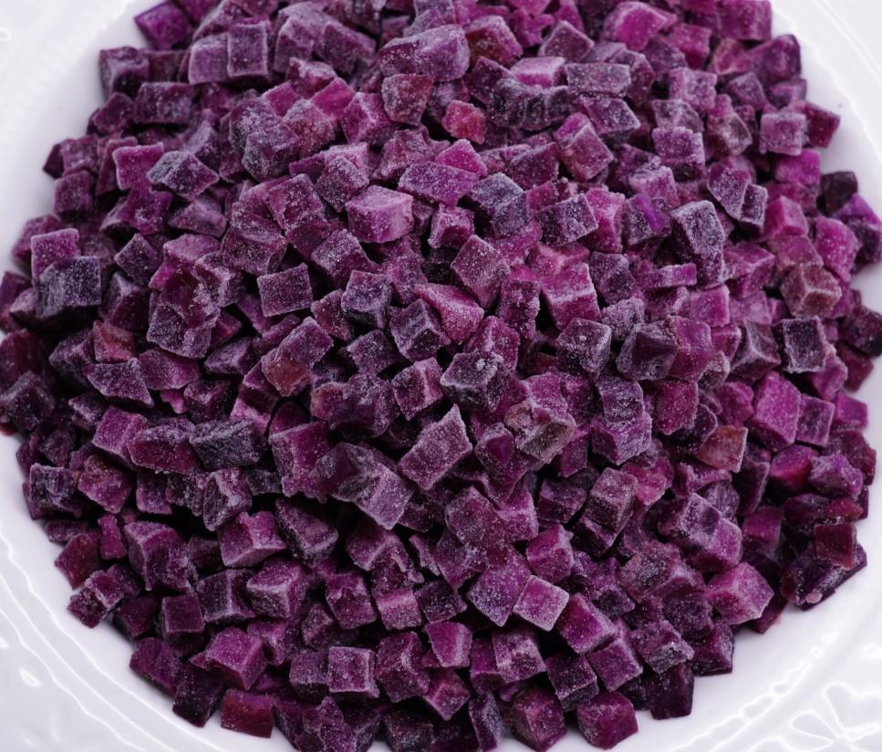Frozen Purple Sweet Potato Manufacturers, Frozen Purple Sweet Potato Factory, Supply Frozen Purple Sweet Potato