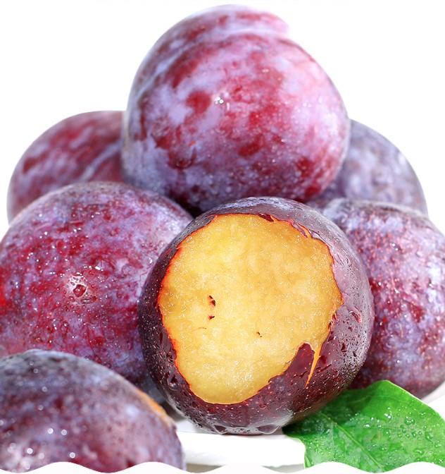 BRC معتمد IQF البرقوق المجمد للعصير