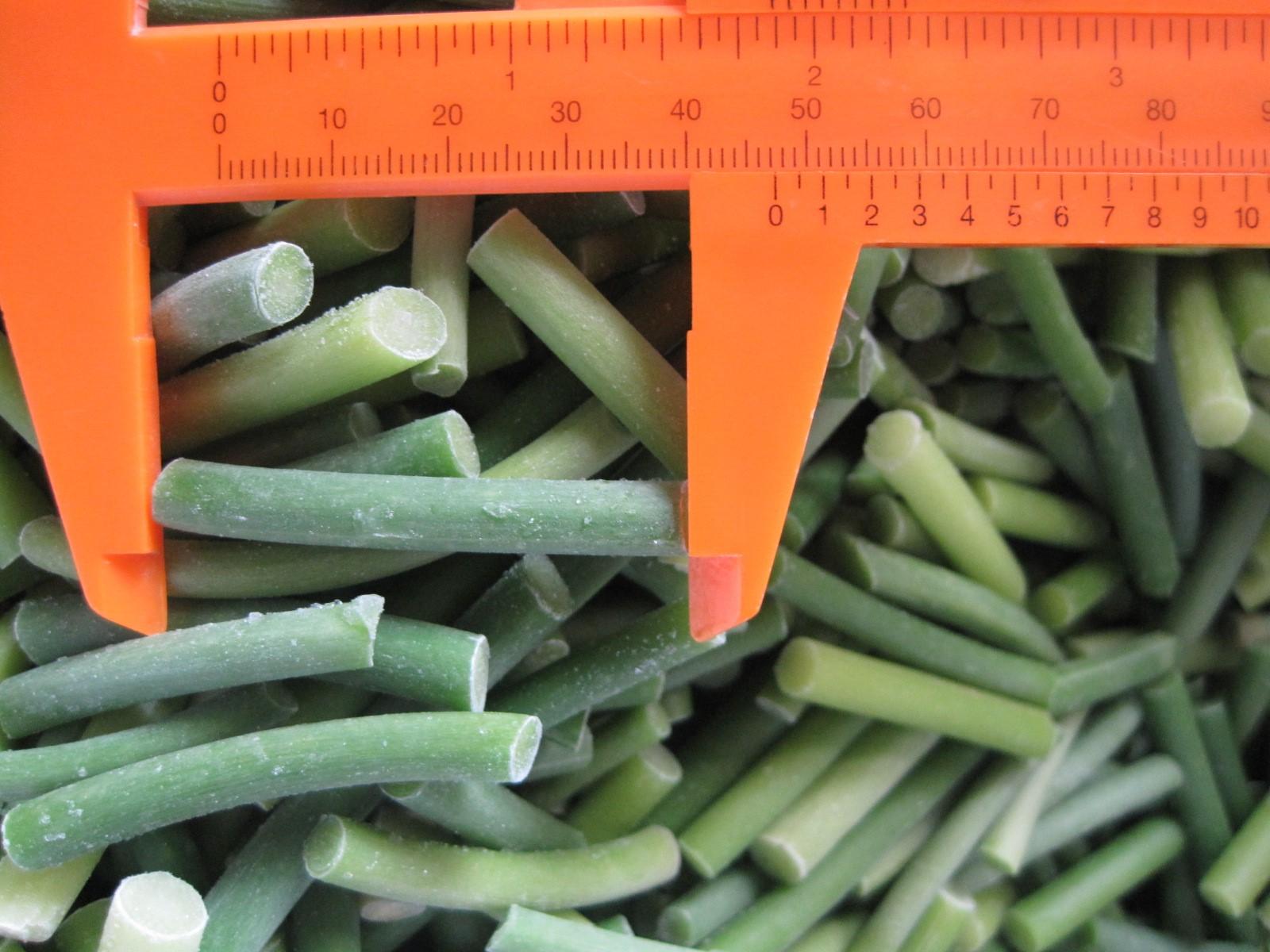 frozen green garlic sprout