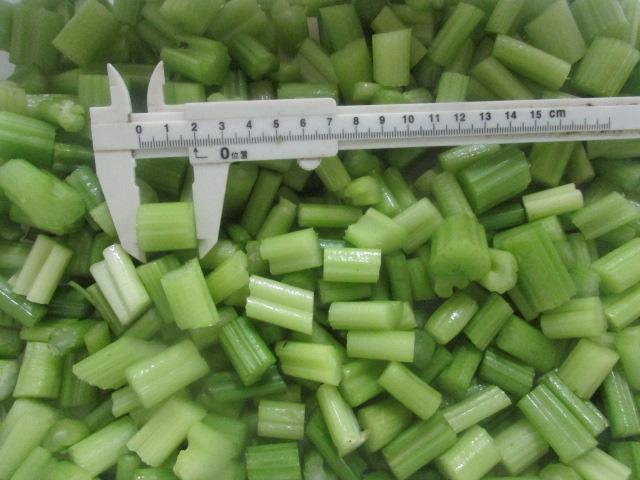 frozen celery cube 1.8cm