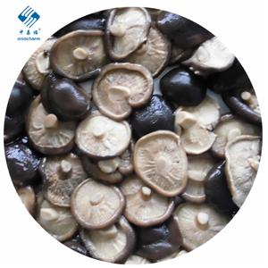 Hongos de shiitake enlatados enteros