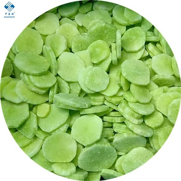Frozen stem lettuce