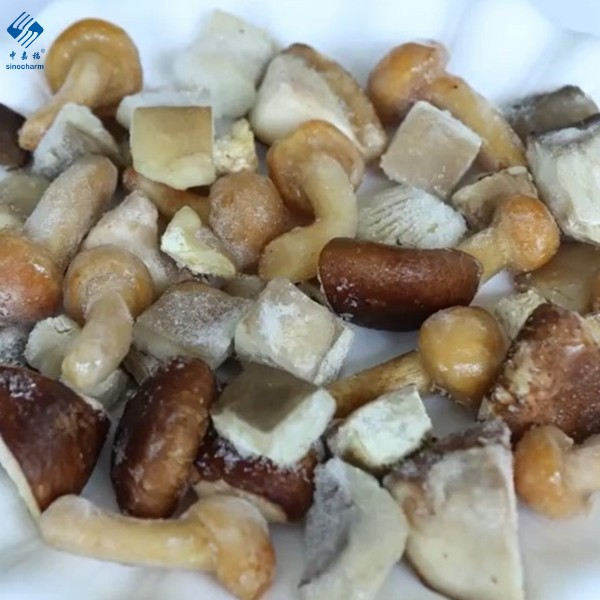 Frozen Mixed Mushrooms