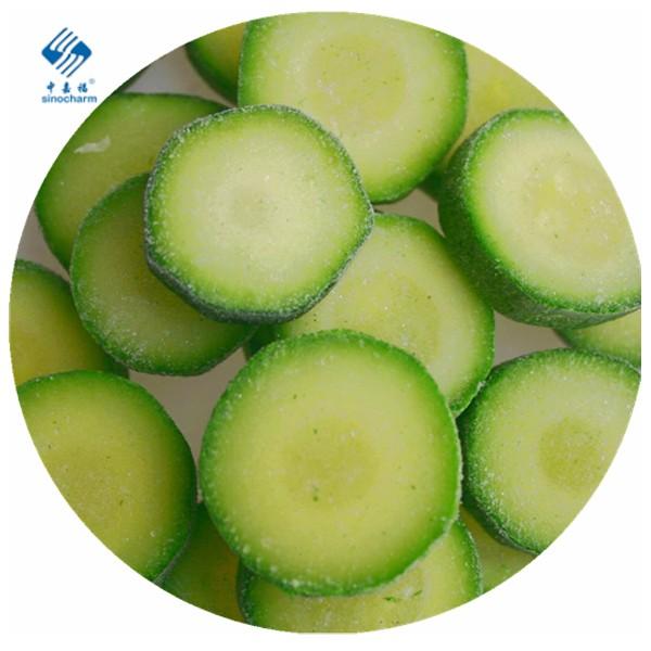 Frozen Zucchini Manufacturers, Frozen Zucchini Factory, Supply Frozen Zucchini