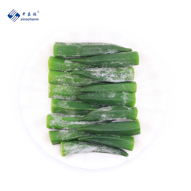 IQF Frozen Okra Manufacturers, IQF Frozen Okra Factory, Supply IQF Frozen Okra