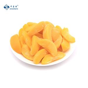 IQF Frozen Yellow Peaches