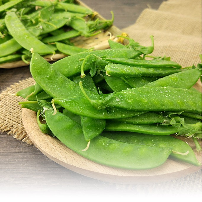 The Production Process of Frozen Pea Pods