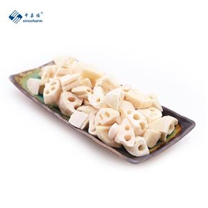 IQF Frozen lotus root cut
