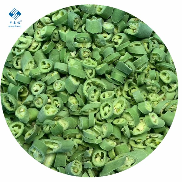 IQF Frozen Green Chilli Manufacturers, IQF Frozen Green Chilli Factory, Supply IQF Frozen Green Chilli