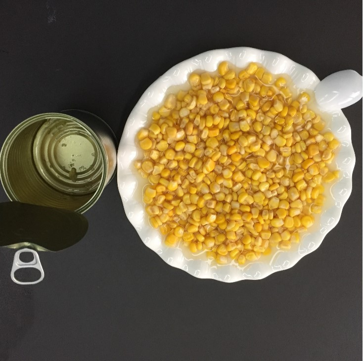 Sinocharm BRC-A approved Canned Sweet Corn Kernel