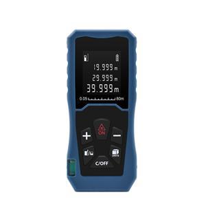 Medidor de distancia láser digital profesional 80M