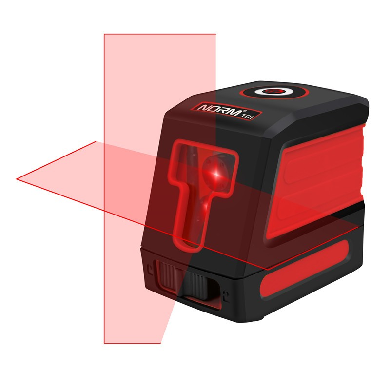 Red Beams 2 Lines Laser Level Self-leveling