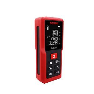 Laser Measurer IP54 Waterproof With Backlight LCD 80m