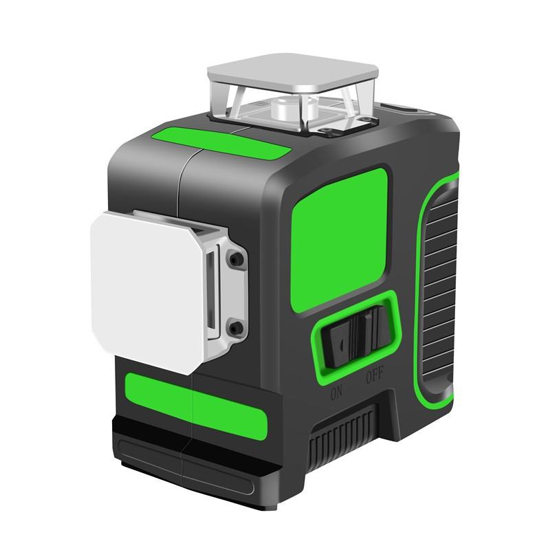 360 Degree 12 Lines Green Beam 3d Laser Level Waterproof