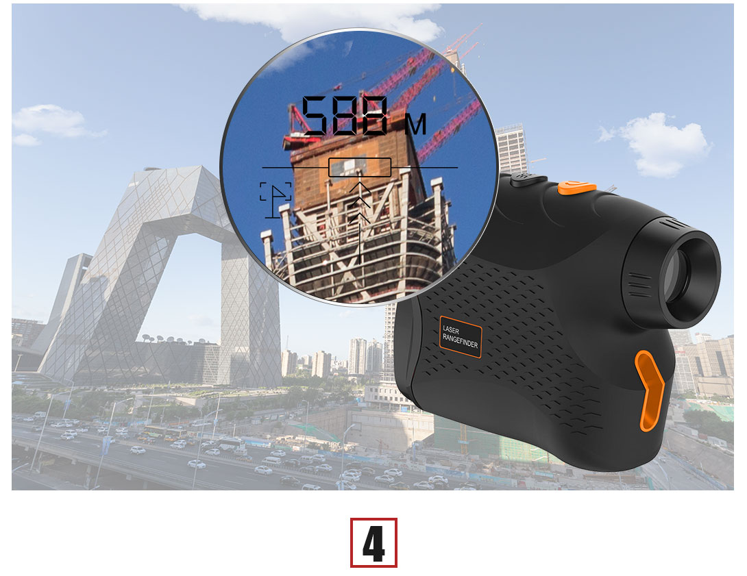outdoor laser rangefinder