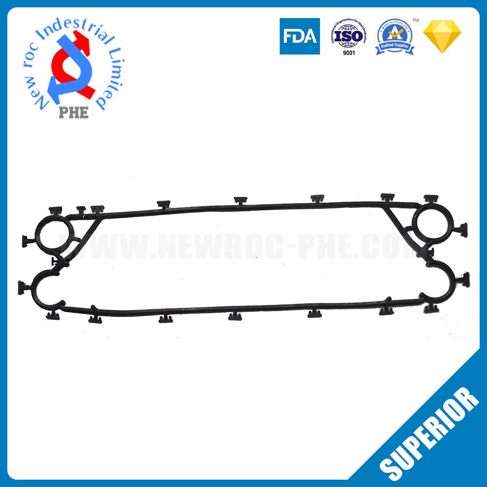 Perfect Replacement For ALFA LAVAL Plate Heat Exchanger Gasket