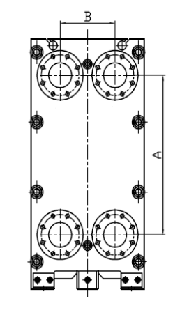 Replacement For APV Plate Heat Exchanger Gasket