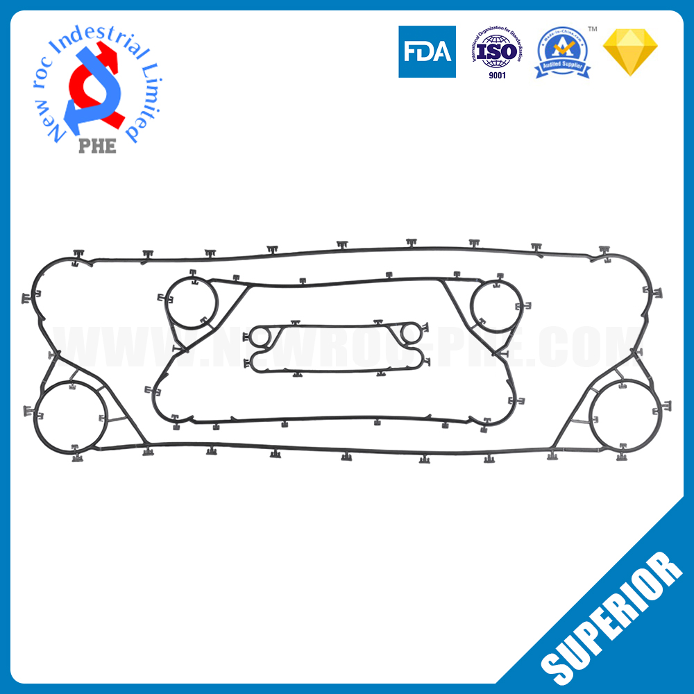 Replacement Gasket For Plate Heat Exchanger Gasket