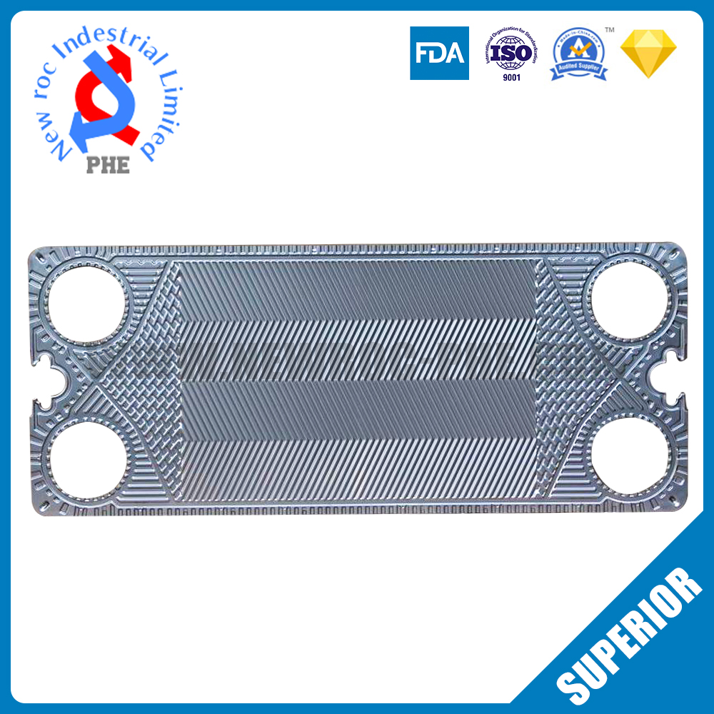 Perfect Replacement For GEA Plate Heat Exchanger Plate