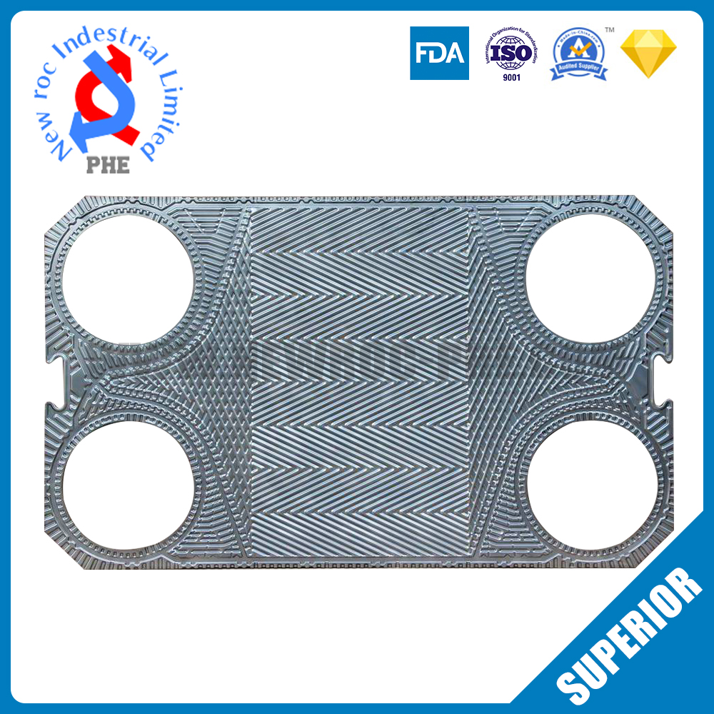 Perfect Replacement For SONDEX Plate Heat Exchanger Plate