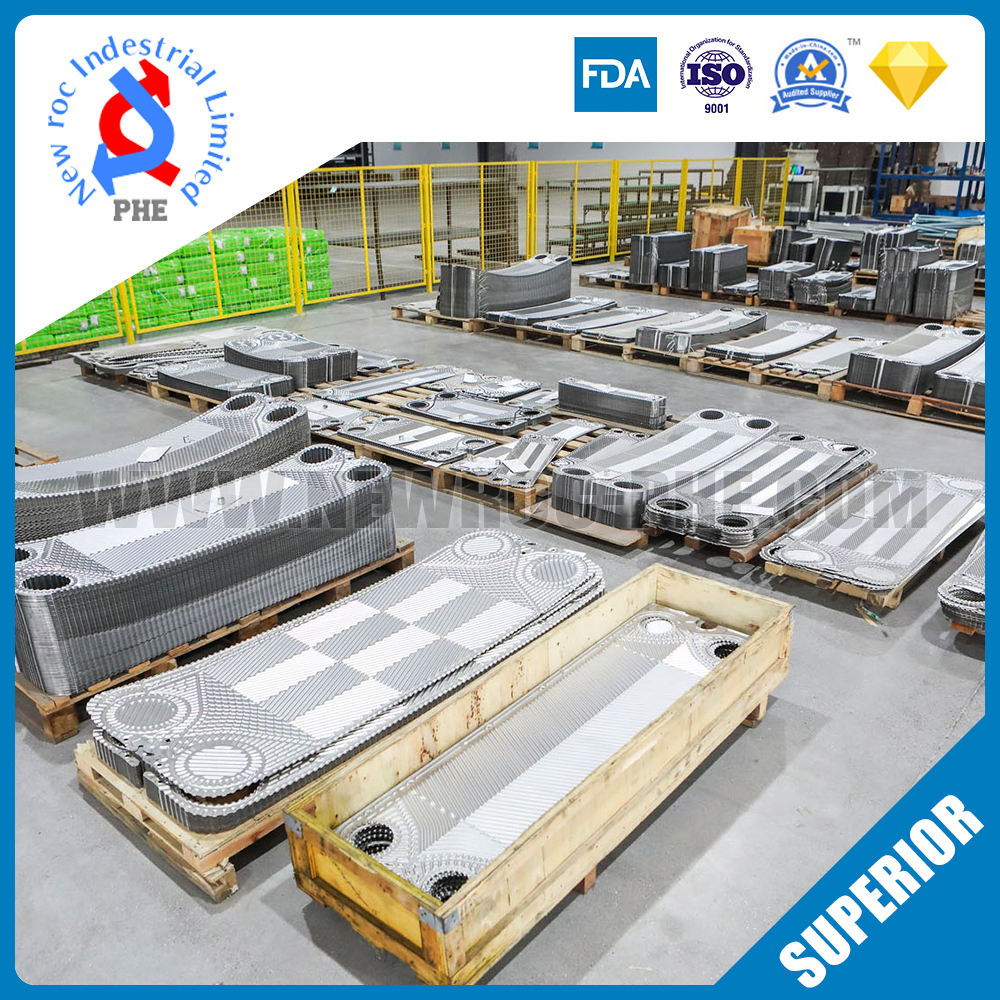 Perfect Replacement For VICARB Plate Heat Exchanger Plate