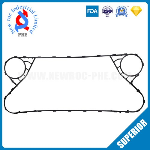 Perfect Replacement For FUNKE Plate Heat Exchanger Gasket