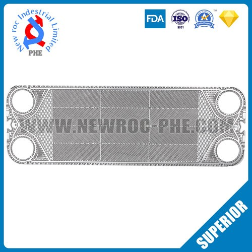 Perfect Replacement Plate Heat Exchanger Plate