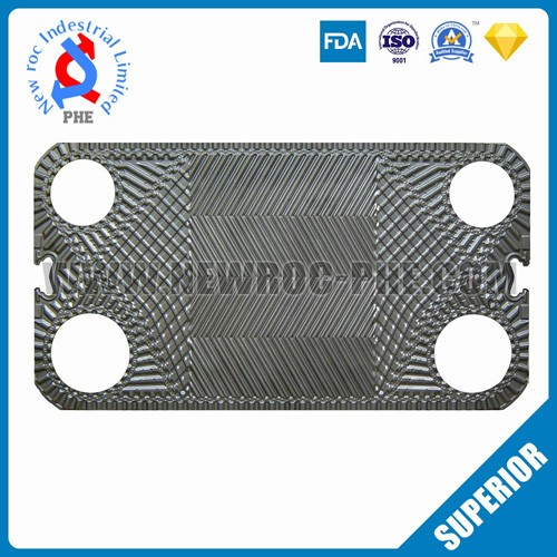 Perfect Replacement For THERMOWAVE Plate Heat Exchanger Plate