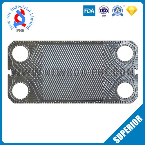 Perfect Replacement For FUNKE Plate Heat Exchanger Plate
