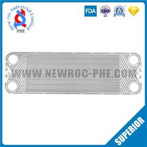 Perfect Replacement For ALFA LAVAL Plate Heat Exchanger Plate